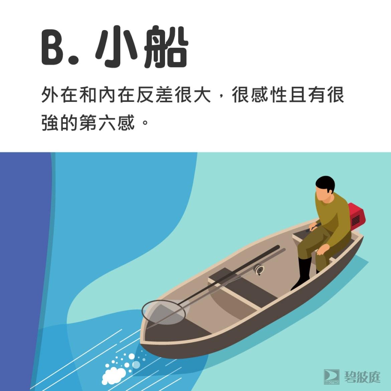 心理測驗 小船