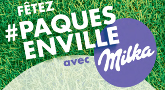 Milka chasse aux oeufs
