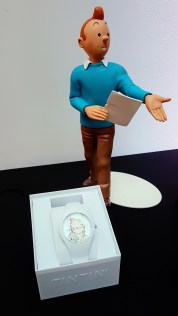 Montre collection Tintin ©biboucheetbibouchon