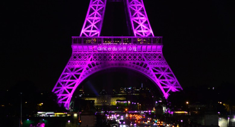 OCTOBRE ROSE TOUR EIFFEL 2016
