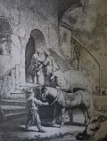 A sketch of Rembrandt