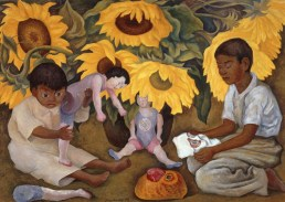 Diego Rivera- Girasoles (1943)