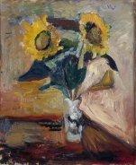 Matisse-Vase of Sunflowers (1898)