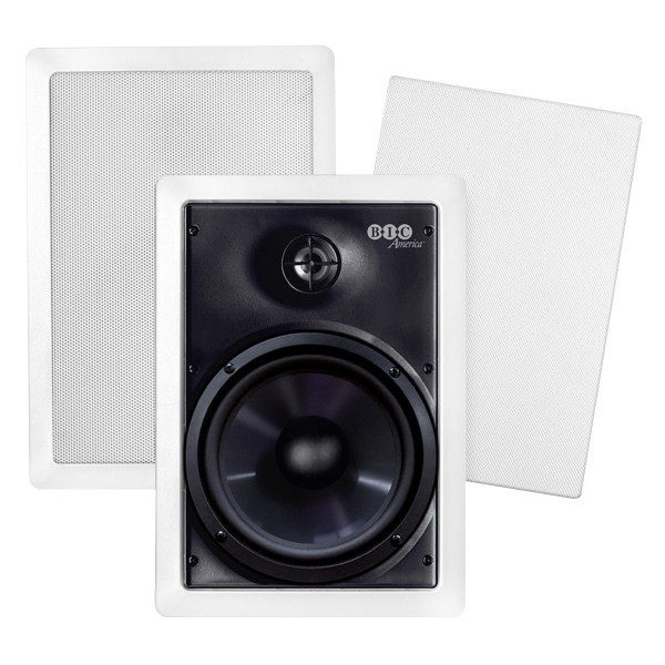 BIC America M-PRO6W Weather-Resistant In-Wall Speakers