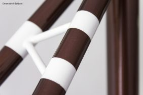bice bicycles details bespoke cyclocross singlespeed brown white