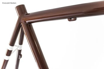 bice bicycles details bespoke handmade fillet brazed brown white