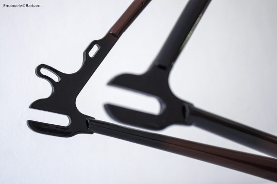 bice bicycles details bespoke handmade fillet brazed brown shade black
