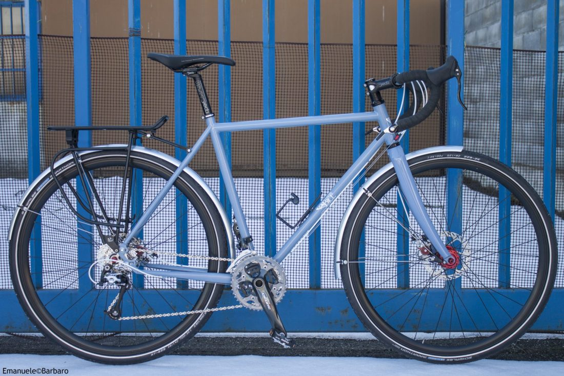 TOURING, COMMUTING AND BIKEPACKING BICYCLE FRAME