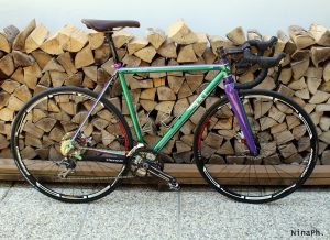 bice bicycles gravel croce handmade bespoke racing green