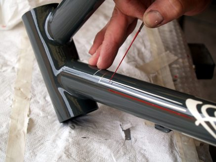 Bice Bicycles Order Custom Made Steel Frames pintstriping