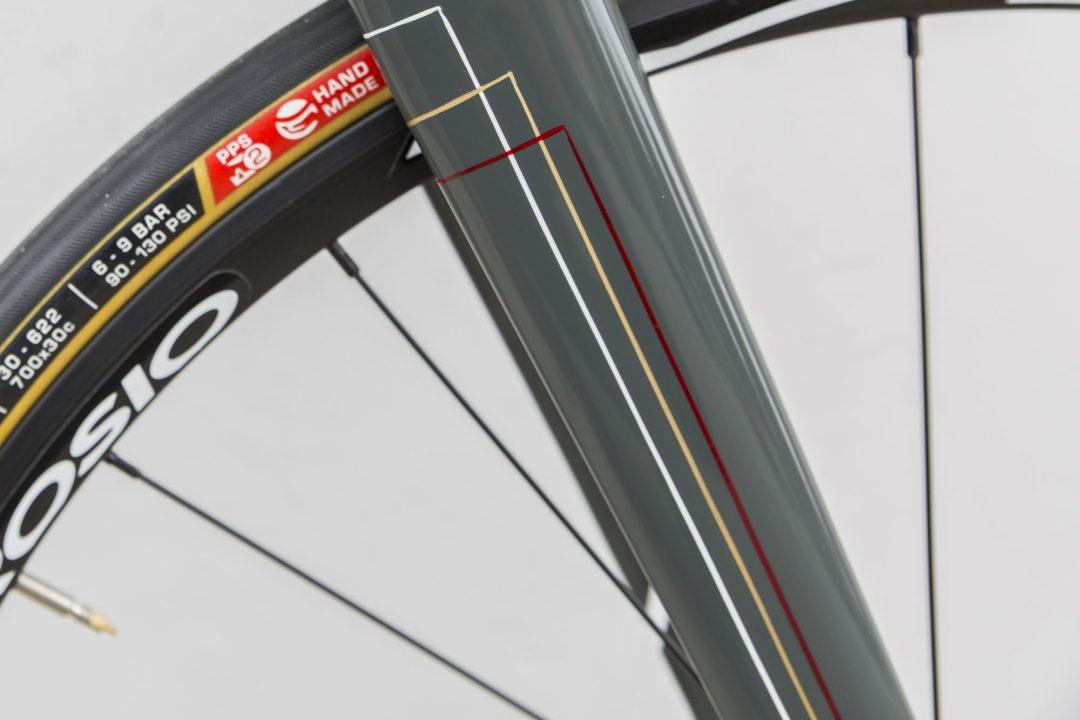 New Custom Steel Gravel Bike Custom Pinstriping