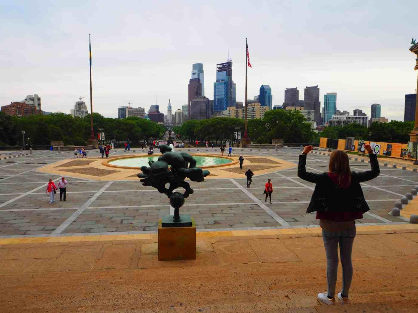 Rocky steps Philly