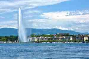 jet d'eau visiter genève suisse