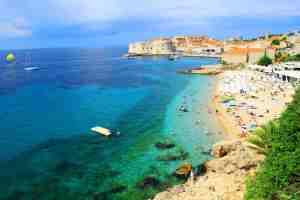 plages en Croatie banje beach
