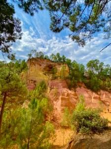 sentier des ocres Luberon