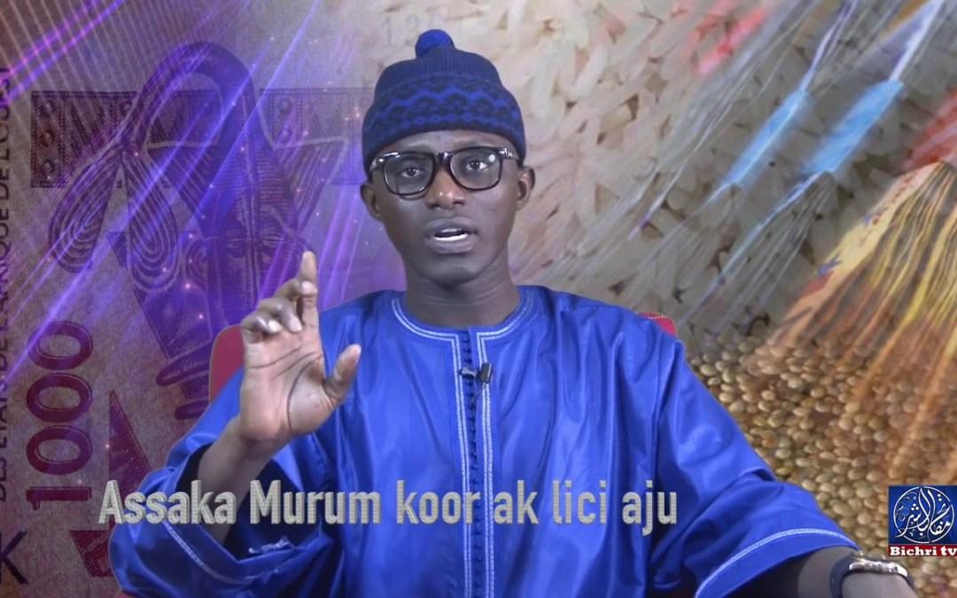Assaka Murum Koor ak lici Aju Bichri TV