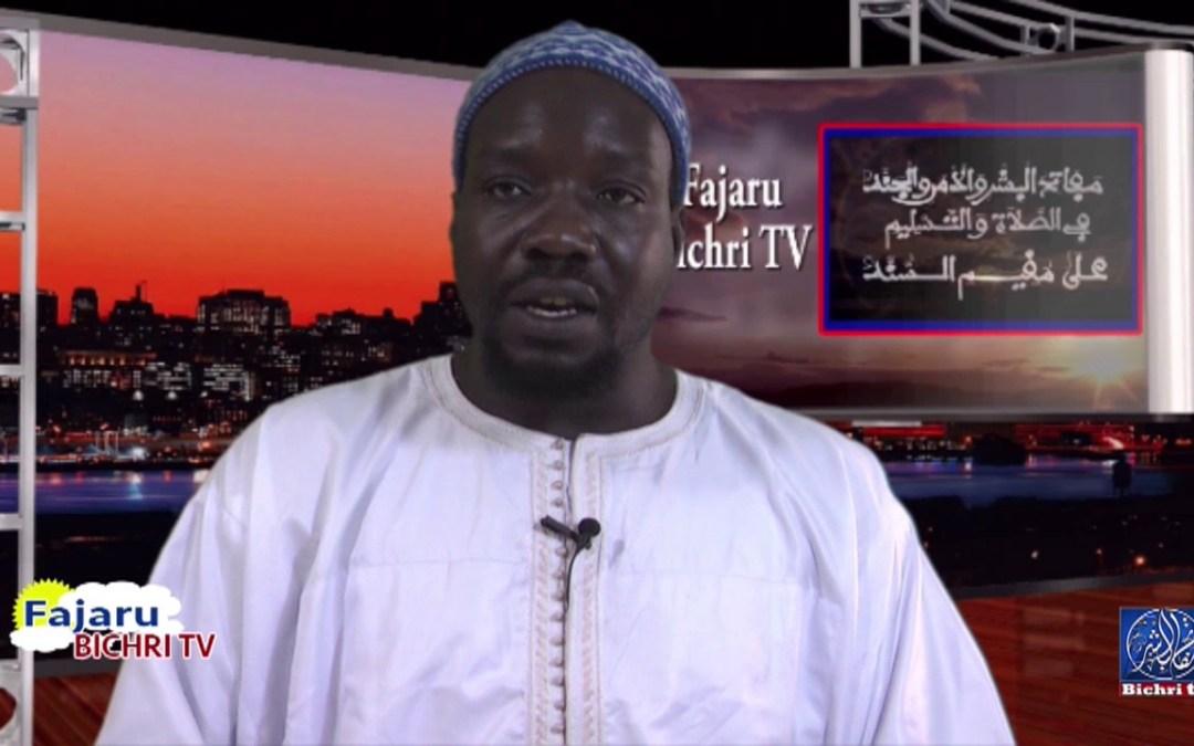 fajaru bichri | Theme : Miftahul Huyob fi Jawabi Hilina Omar Diop part 03