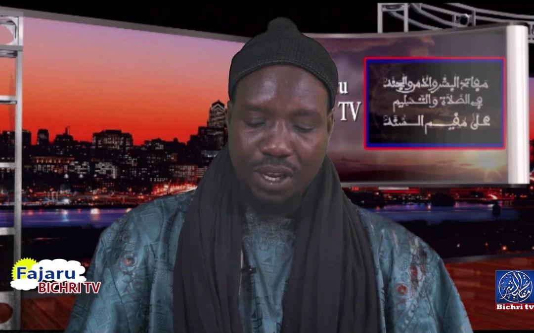 fajaru bichri | Theme : Miftahul Huyob fi Jawabi Hilina Omar Diop part 01