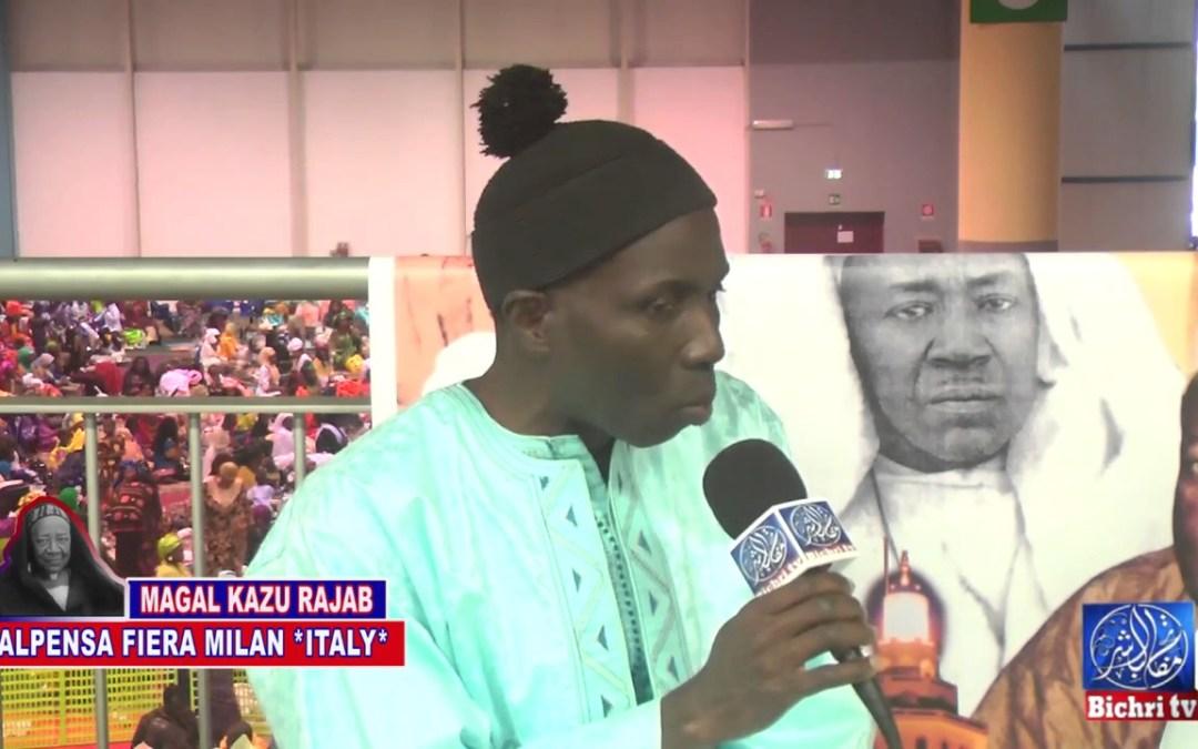 Kazu Rajab 2017 Touba Milan
