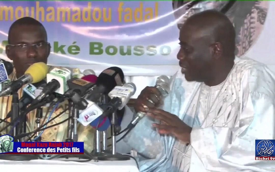 Magal Kazu Rajab 2017 | Conference des petits fils de Serigne Fallou Mbacke part 02