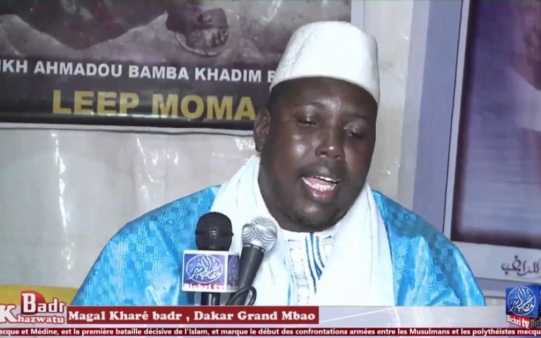 Magal Kharé Badr 17 Ramadan 1438h | Serigne Bassirou Touré wakhtane si Khassida Asma ou Ahlou Badr