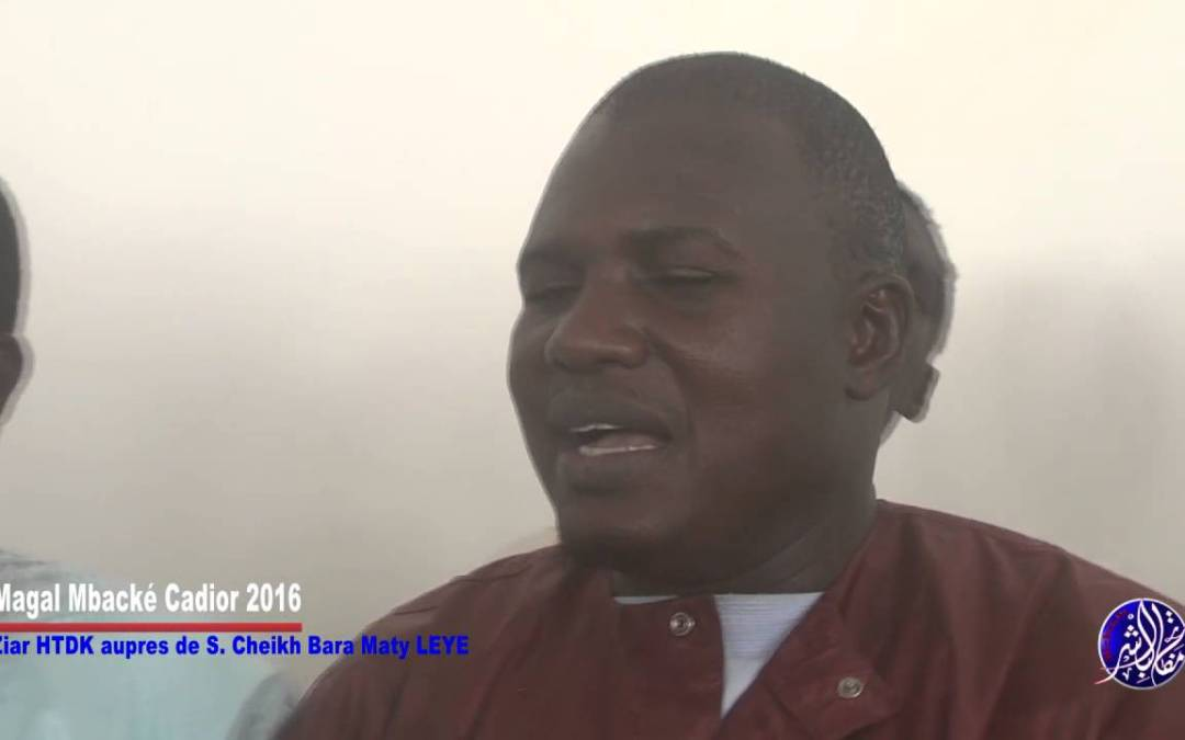 Magal Mbacké Kadior 2016 Ziar HTDK Auprès De Serigne Cheikh Bara Maty Leye Bichri TV