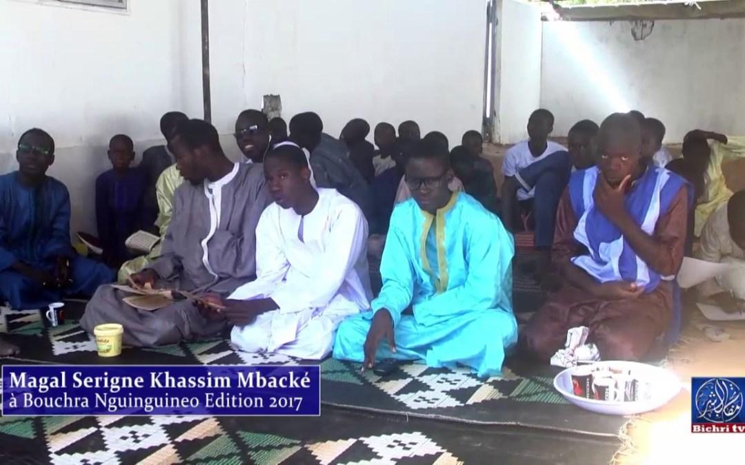 Magal Serigne Khassim Mbacké à Bouchra Guinguineo Edition 2017 Ouverture de Mourtalla Gueye Bichri