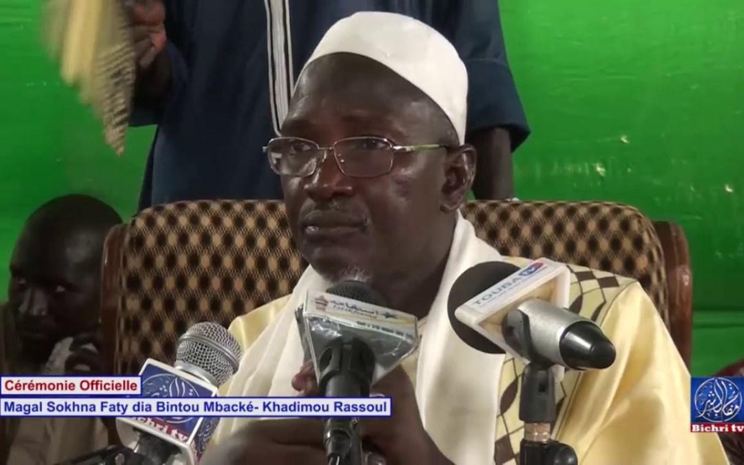 Magal Sokhna Faty Dia bintou Khadim Rassoul Cérémonie Officielle