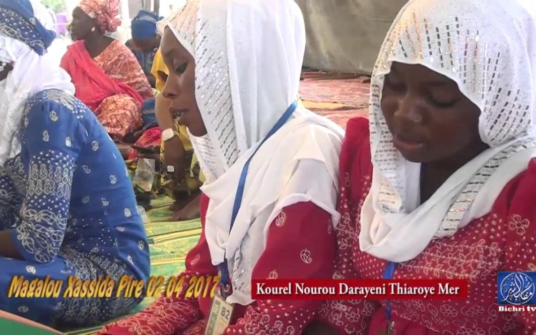 Magal Xassida Touba Pire 02 Avril 2017 avec DNMEEP  kourel