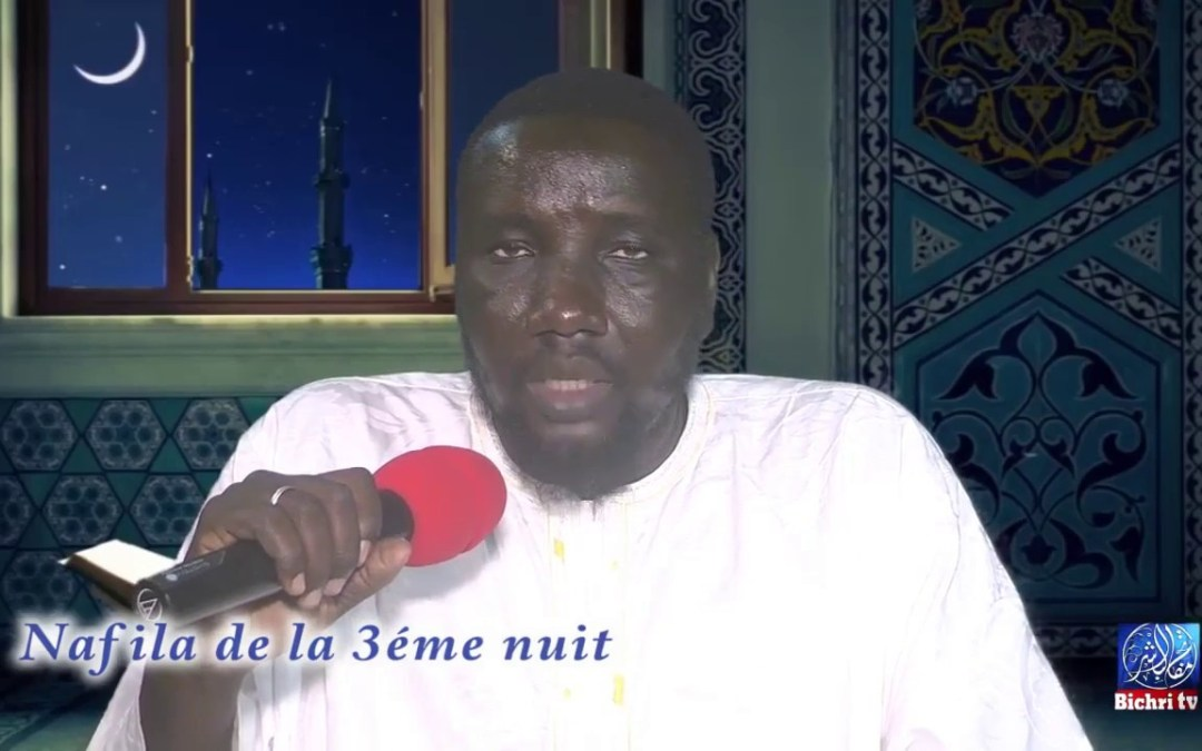 Nafila de la 3eme nuit du mois de Ramadan sur bichri tv