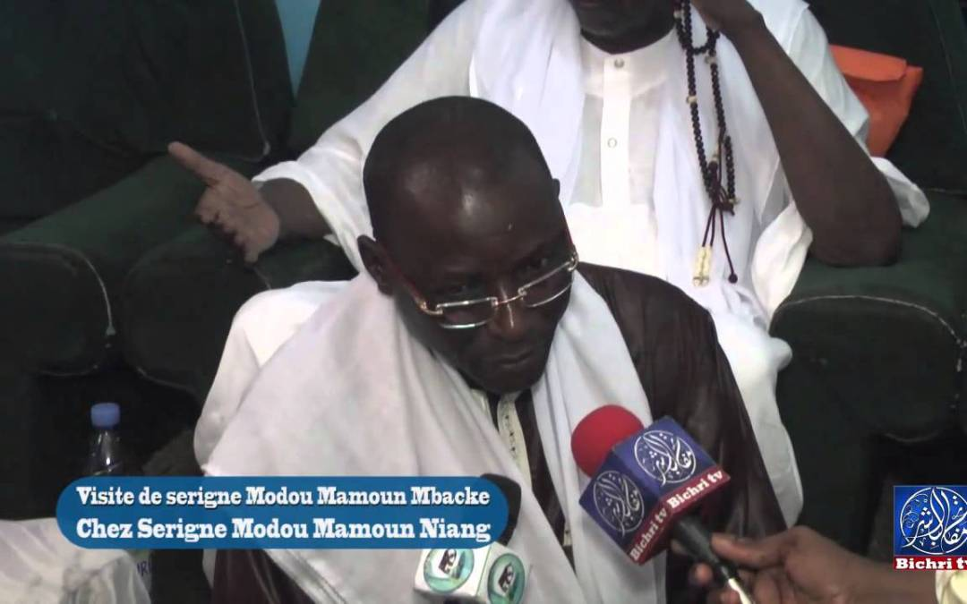 Visite de Serigne Modou Mamoune Mbacke chez Serigne Modou Mamoun Niang