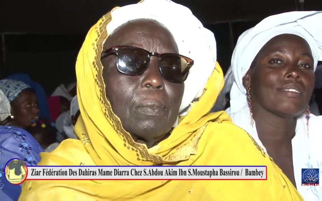 Ziar Fédération des Dahiras Mame Diarra Du departement de Bambey partie 03