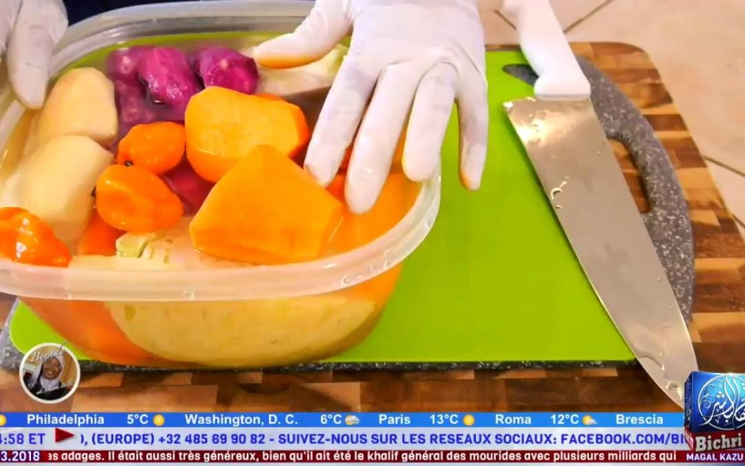 """Bernde ak Sokhna Billo"" Saison 2 Cuisine Senegalasie # 3 | Plat: Maffe + Dessert: Tarte au Bonaffee"