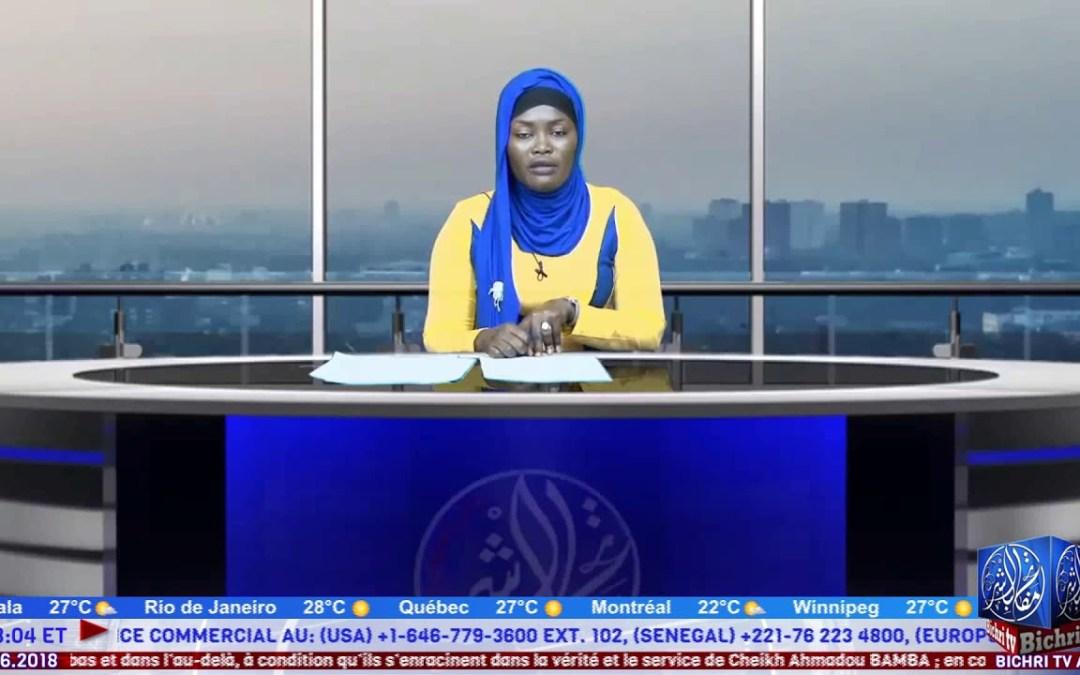 Flash Infos du Jeudi 28 Juin 2018 avec Sokhna Fatou Cisse