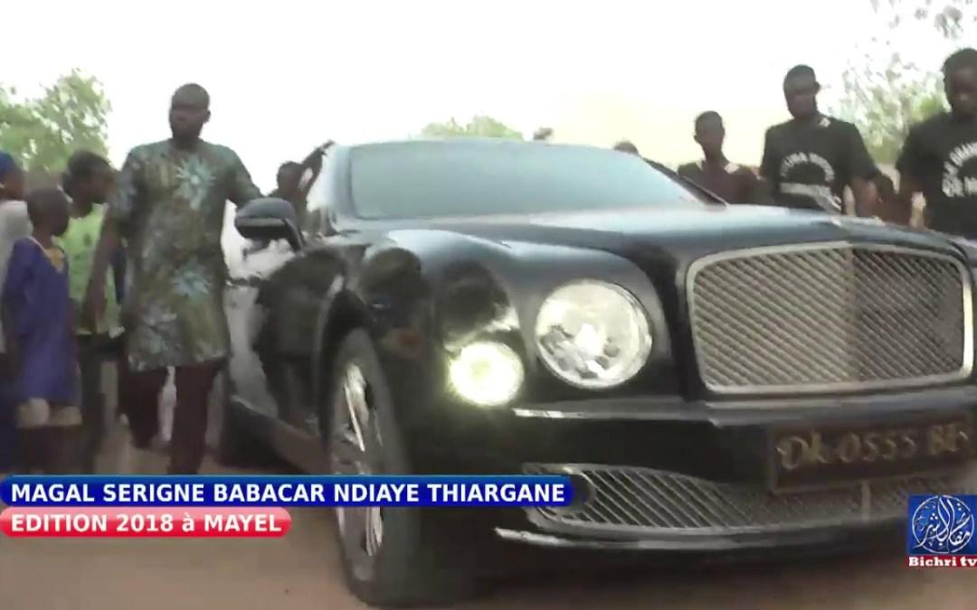 Magal serigne babacar ndiaye Thiargane/ arrivée Serigne Abdou Karim Mbacké Falilou