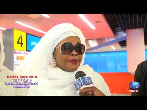 Bamba Days 2018: Interviews à JKF | Arrivée de Serigne Mame Mor Mbacké