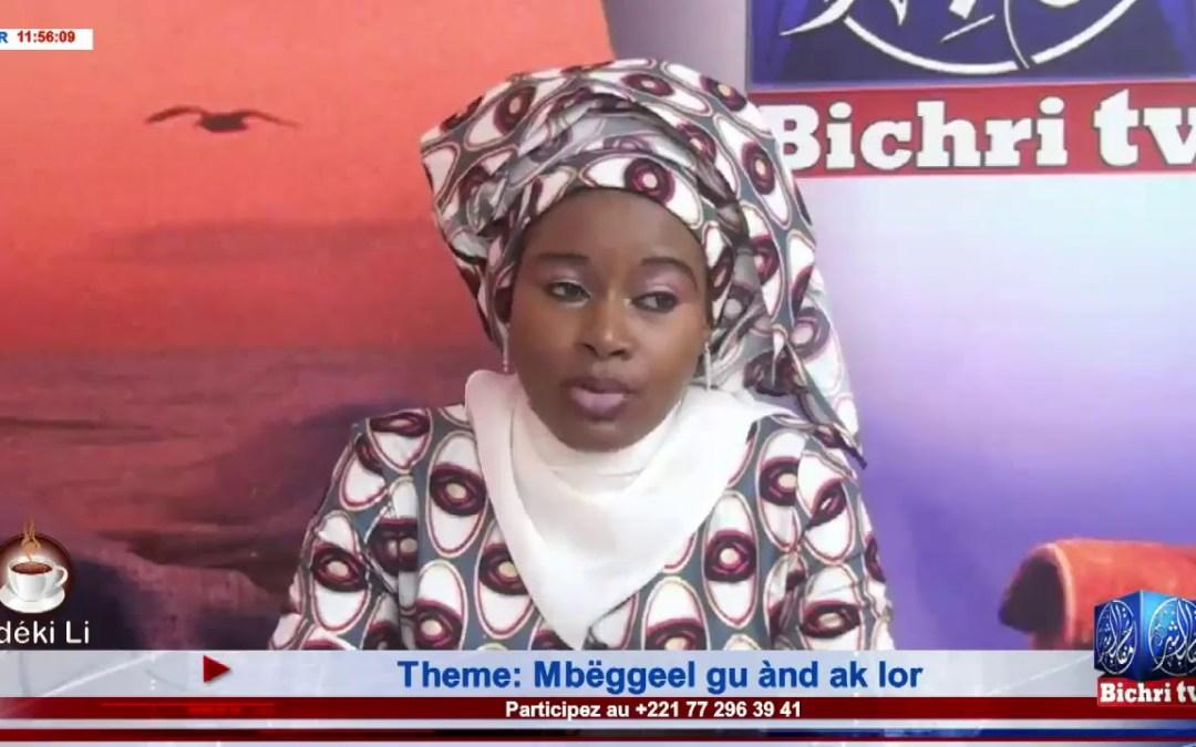 LIVE | Emission Matinale Ndeki li #231 Theme: Mbëggeel gu ànd ak lor