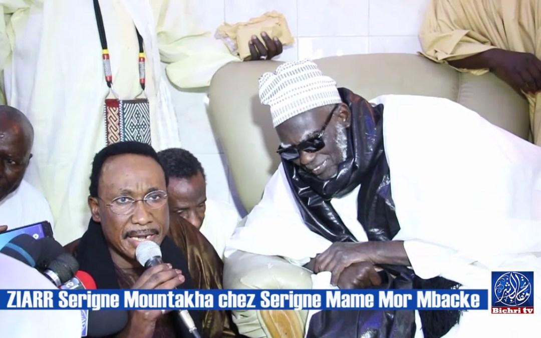 Ziarr de Serigne Mountakha chez Serigne Mame Mor Mbacke