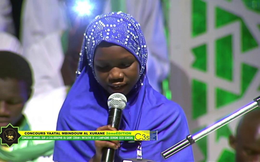 Exceptionnel récitation de Soxna Khady drame la lauréate du c