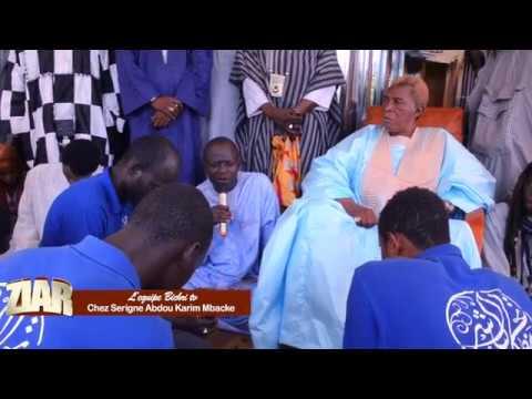 Ziar L'equipe bichri tv chez Serigne Abdou Karim Mbacke