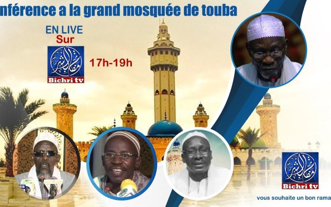 En Direct Grande Mosquée Touba J26 | Theme: Laaj Ak Tontu Ci Diine
