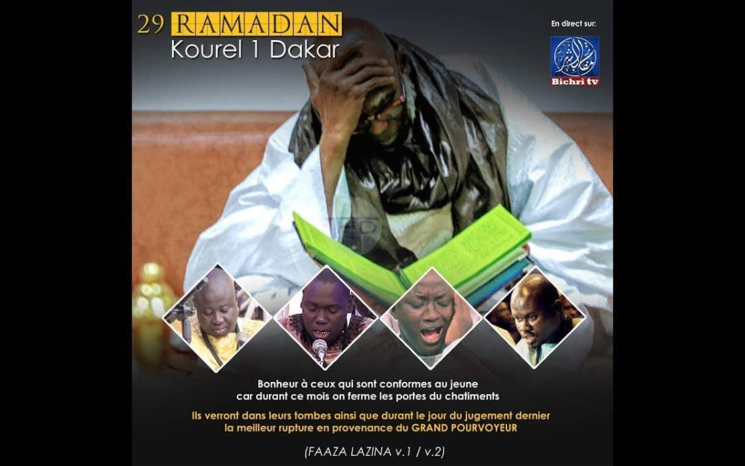 En Direct | Prestation Kourel Hizbut Tarqiyyah Residence Cheikhoul Khadim | Ihyâhu Ramadan 29e jour