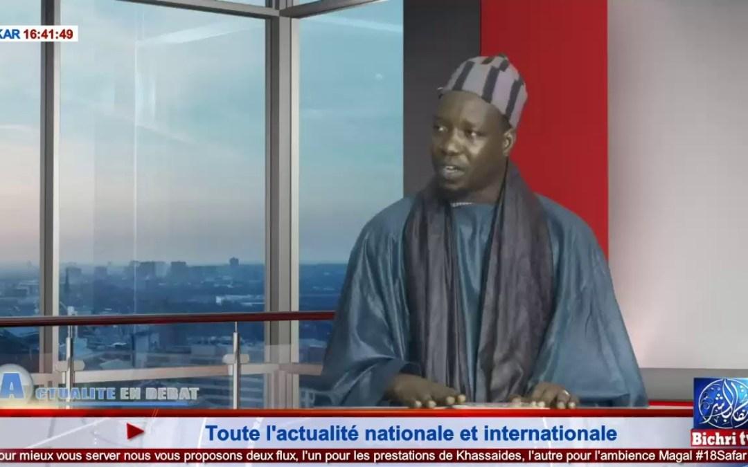 LIVE   Actualités en Débat du 23 Octobre 2019   à la une : la déclaration du Khalif sur Aida Diallo