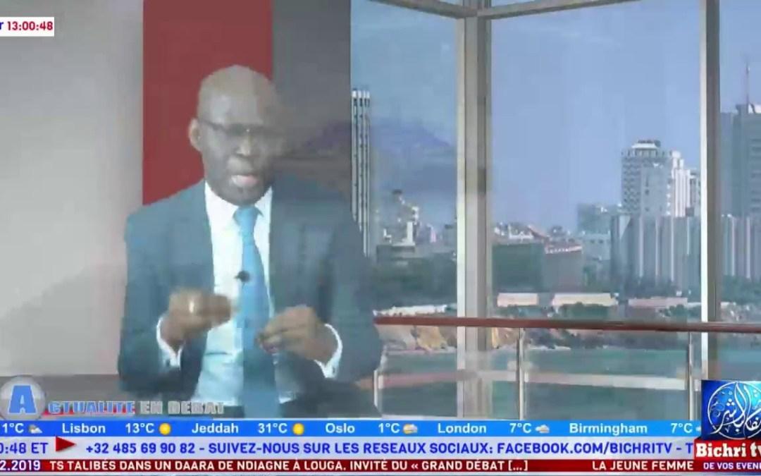 LIVE | Actualités en Débat invité Cheikh Bamba DIEYE | Rapport ARMP ; les Daaras..