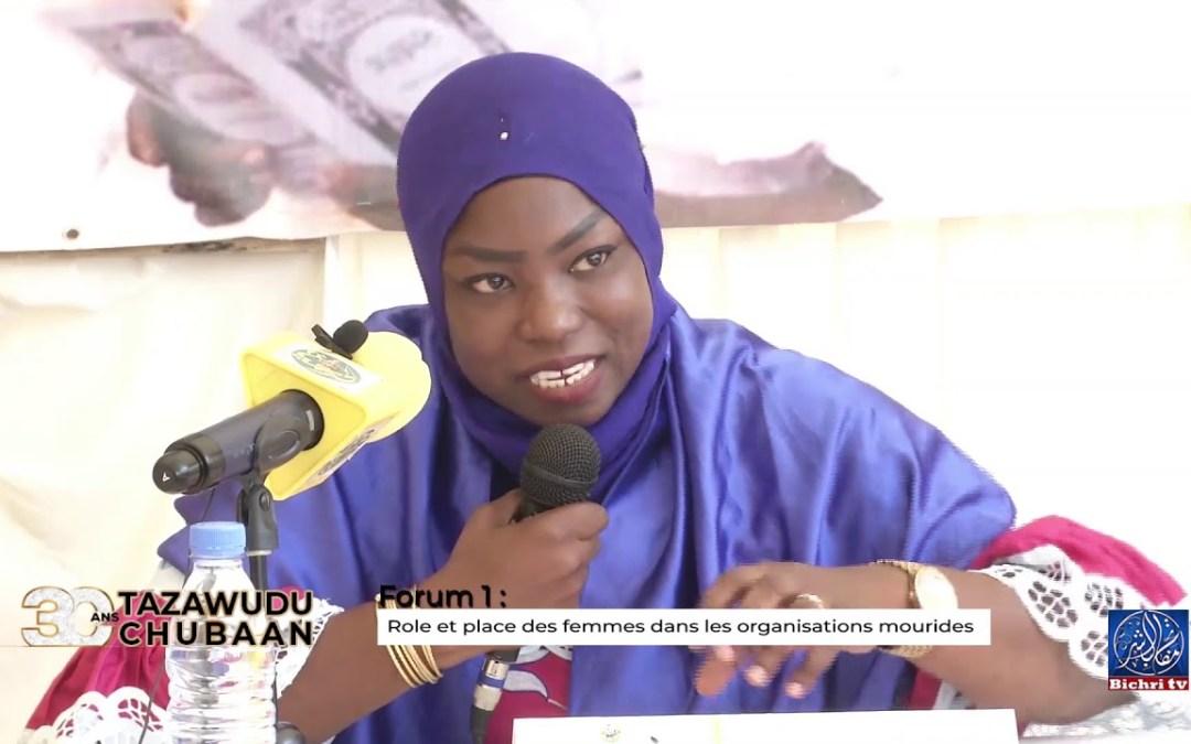 forum 1: Role et place des femmes dans les organisations mourides | 30 ans Tazawudu Chubaan