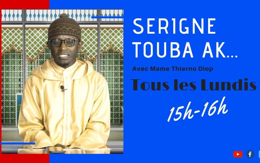 """LIVE   Emission Serigne Touba ak….   Thème: """"Serigne Touba ak ndaw ñi"""" invité S Djily Samb"""