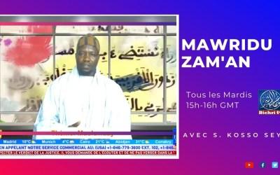 LIVE   Mawridu Zam'an   Thème : Al Mujaahidul Akbar Cheikh Mourtada Mbacke