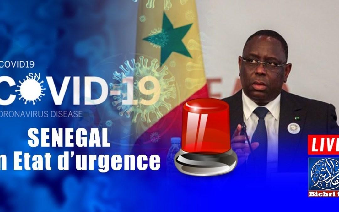 🔴En direct | COVID19-Sénégal, état d'urgence ou Confinement ?