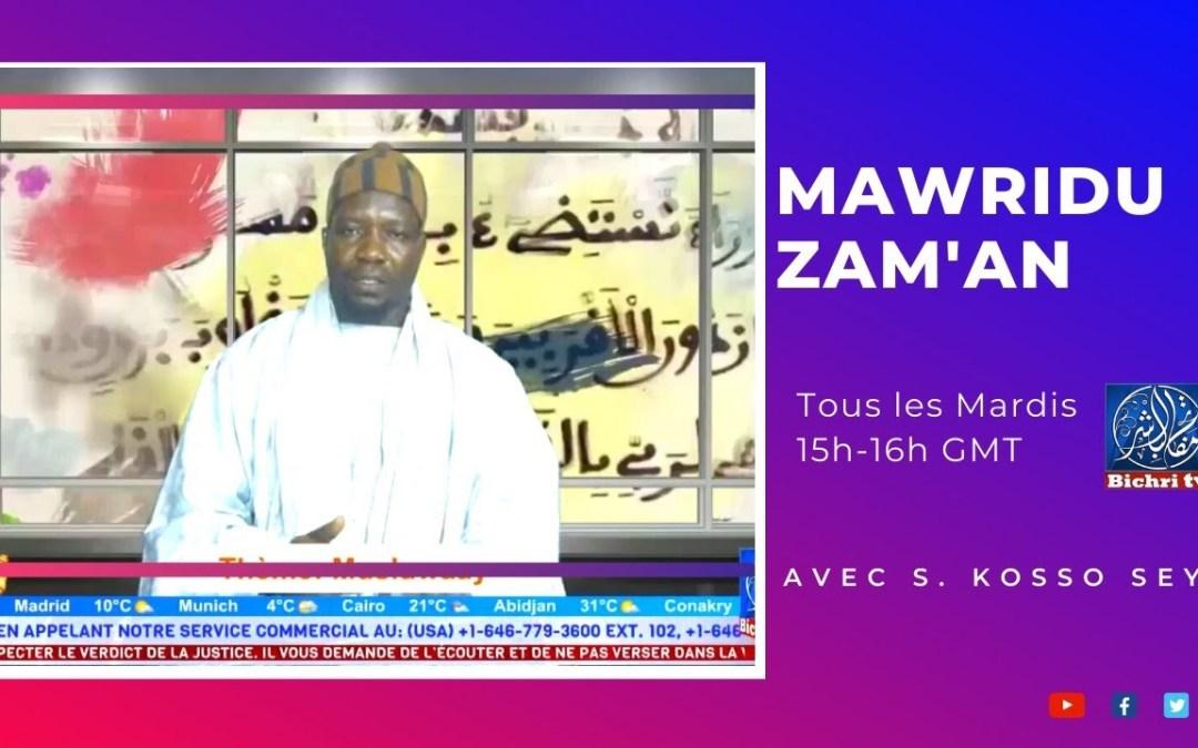LIVE | Mawridu Zam'an | Thème : Al hibaadatu