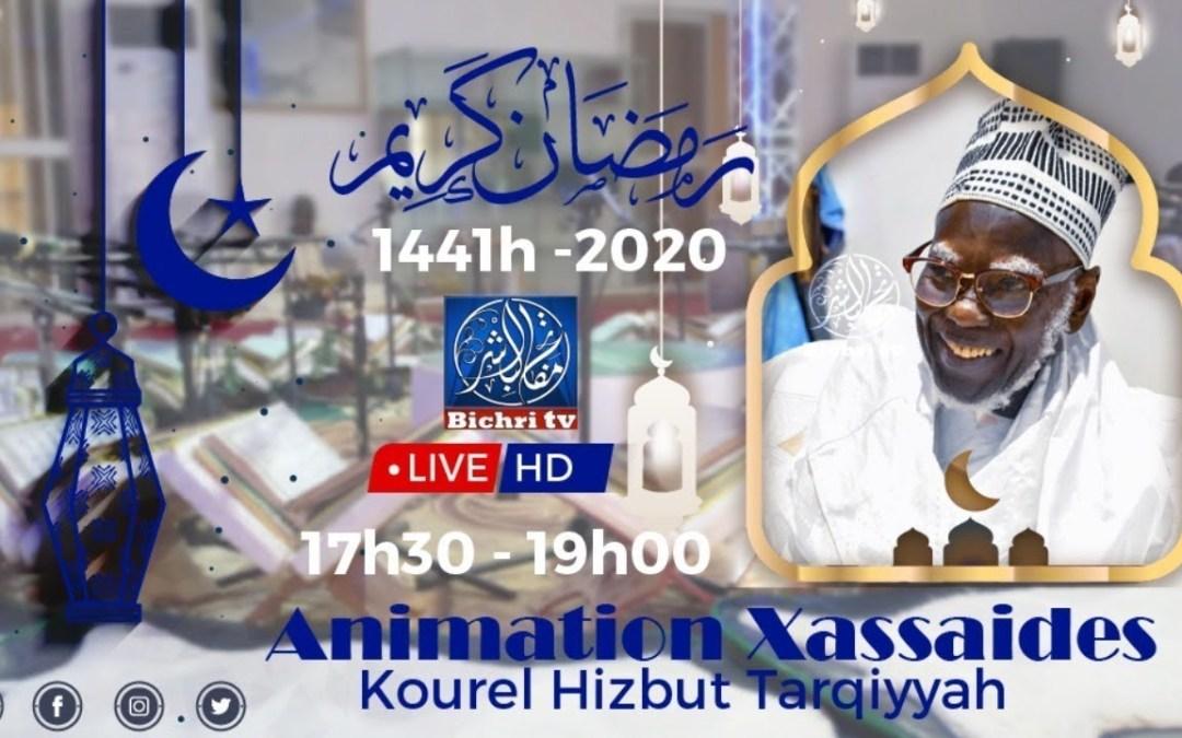 LIVE   Amination Xassaides Kourel 2 Hizbut Tarqiyyah Touba   28eme Jour Ramadan